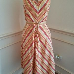 Multi Color sun dress Loft